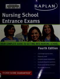 Cover of: Kaplan Nursing School Entrance Exam | Kaplan Publishing