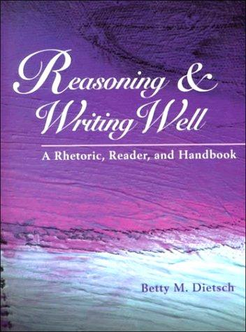 Reasoning & writing well