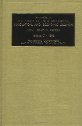 Download Advances in the Study of Entrepreneurship, Innovation, and Economic Growth
