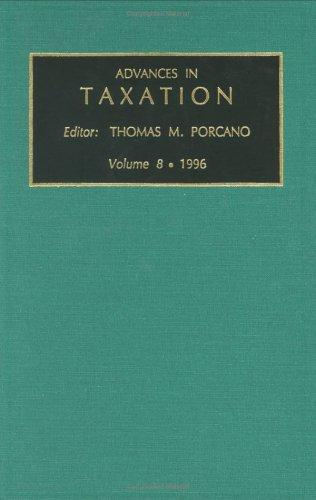 Download Advances in Taxation