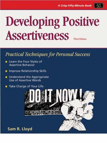 Download Developing positive assertiveness