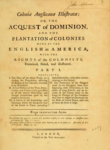 Download Coloniæ anglicanæ illustratæ