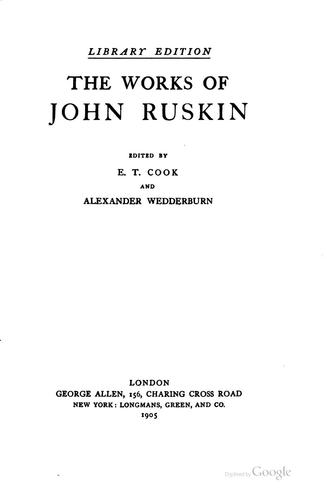 Download The Works of John Ruskin