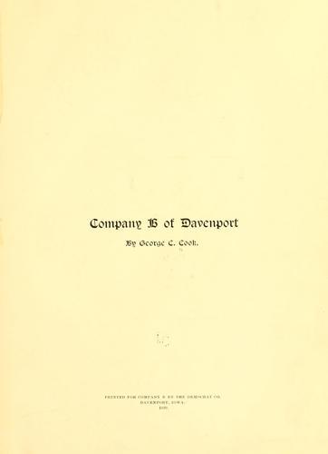 Download Company B of Davenport