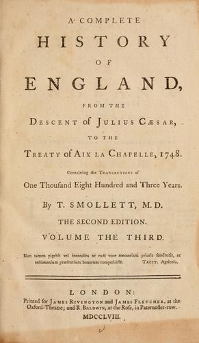 A complete history of England