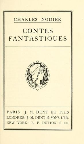 Download Contes fantastiques