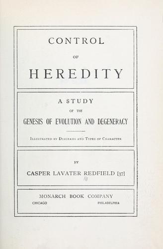Control of heredity