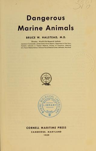 Dangerous marine animals.