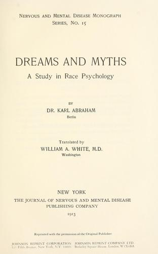 Download Dreams and myths