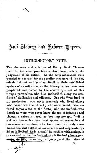 Download Anti-slavery and Reform Papers
