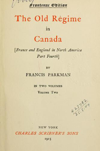 France and England in North America.