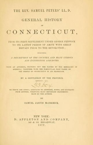 Download General history of Connecticut