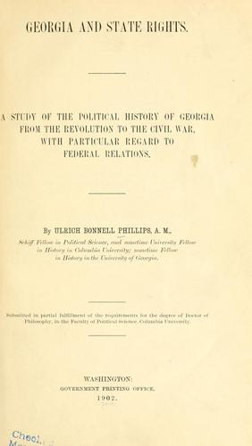 Georgia and state rights.