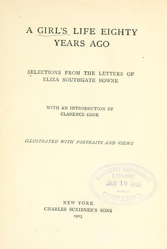 Download A girl's life eighty years ago