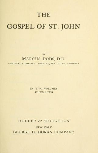 Download The Gospel of St. John