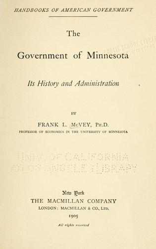 The government of Minnesota
