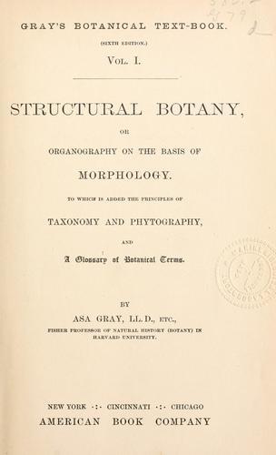Gray's Botanical text-book.
