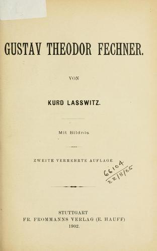 Gustav Theodor Fechner.