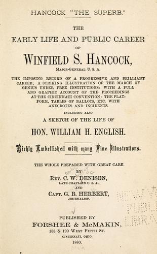 "Hancock ""the superb."""