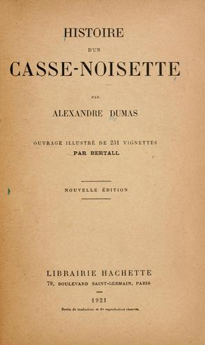 Histoire d'un casse-noisette.