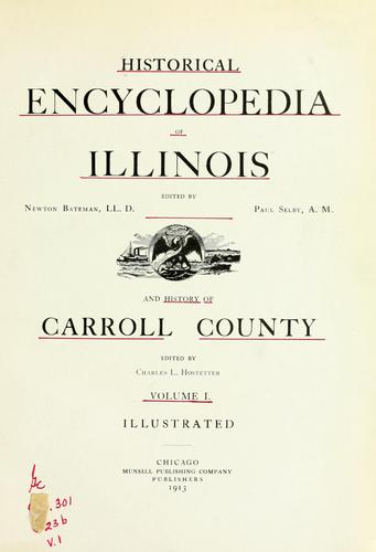 Historical encyclopedia of Illinois