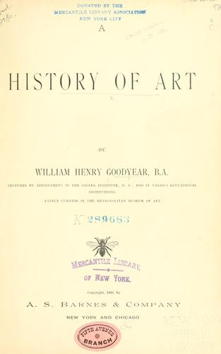 Download A history of art.