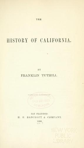 Download The history of California.