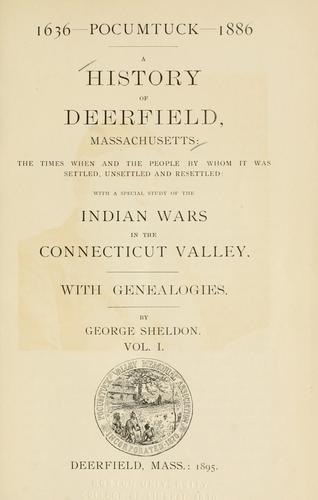 Download A History of Deerfield, Massachusetts