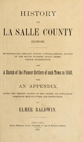 History of La Salle County, Illinois