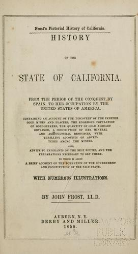 Download History of the state of California