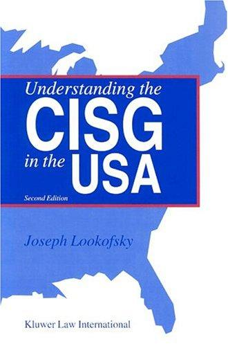 Download Understanding The Cisg In The Usa
