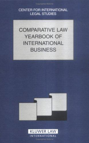 Download Comparative Law Yearbook of International Business