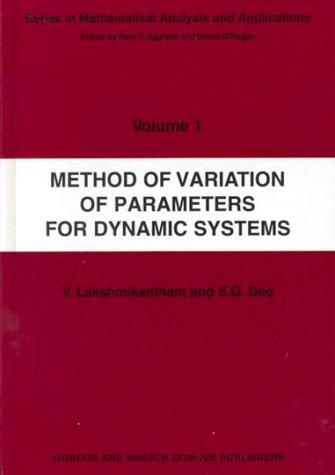 Method of variation of parameters for dynamic systems (Open Library)