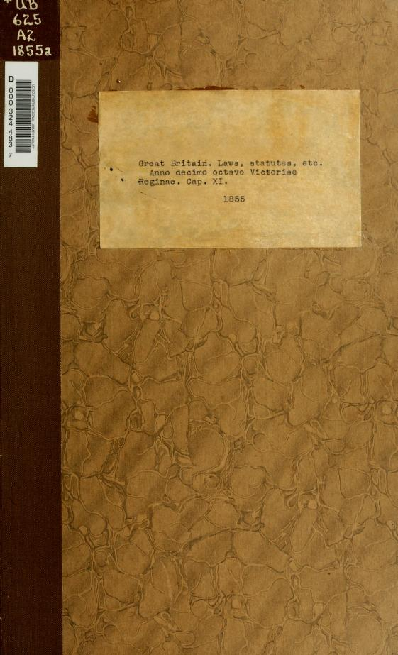 An act for punishing mutiny and desertion, and for the better payment of the army and their quarters. by Great Britain.