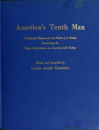 Cover of: America's tenth man | Lucille Arcola Chambers