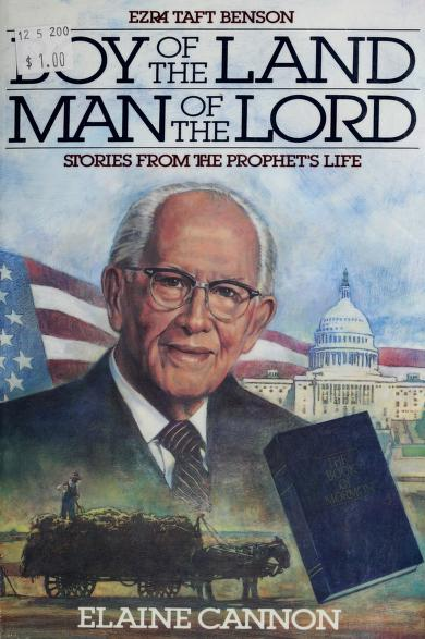 Boy of the land, man of the Lord by Elaine Cannon
