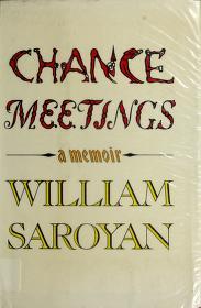 Cover of: Chance meetings | Aram Saroyan