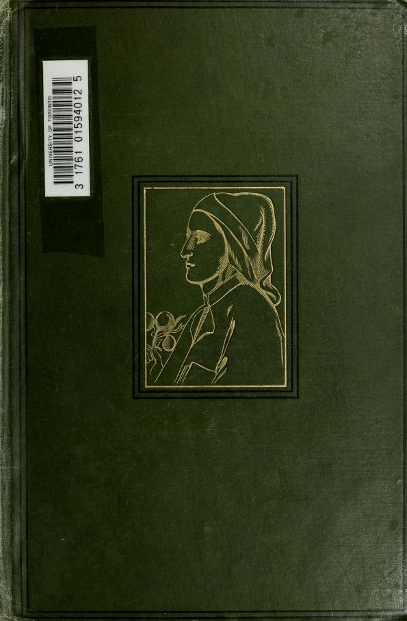 Estimates, contemporary and later [of Dante] by E. H. Plumptre