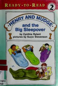 Cover of: Henry and Mudge and the big sleepover | Jean Little