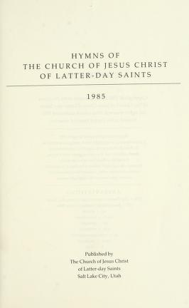 Hymns (1985)