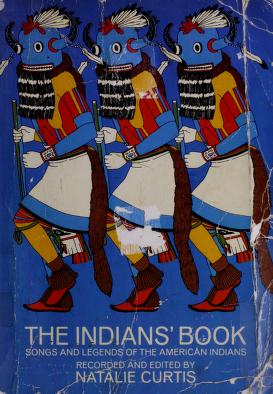 Cover of: The Indians' book   Natalie Curtis Burlin