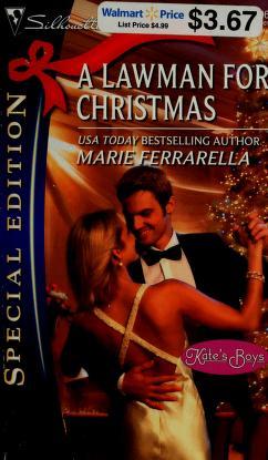 Cover of: A lawman for Christmas | Marie Ferrarella