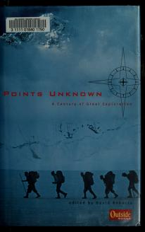 Cover of: Points unknown   Roberts, David