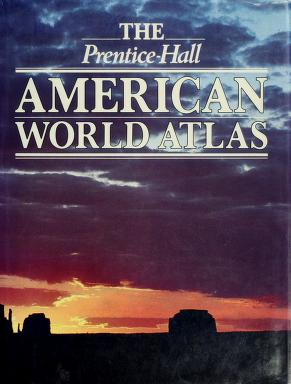 Cover of: The Prentice-Hall American world atlas | Hilary_Fashion