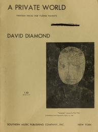 Cover of: A private world | Diamond, David