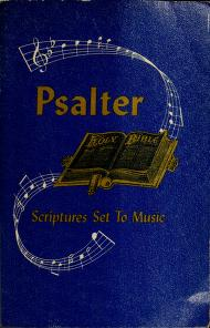 Cover of: Psalter | Bethany Missionary Association