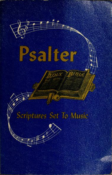 Psalter by Bethany Missionary Association