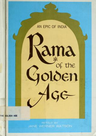 Cover of: Rama of the Golden Age | Jane Watson
