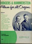 Cover of: Rodgers and Hammerstein album for all organs (spinet & large models)