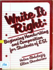 Cover of: Write It Right | Helen T. Abdulaziz